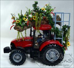 tractor met pralwagen
