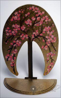 handgeschilderde bloesemboom