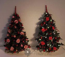 kerstboom plat